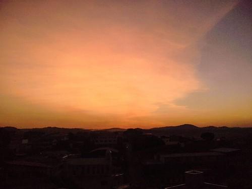#Sunset em #RibeirãoDasTrevas