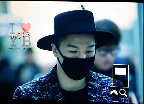 Big Bang - Incheon Airport - 21mar2015 - Tae Yang - Urthesun - 04