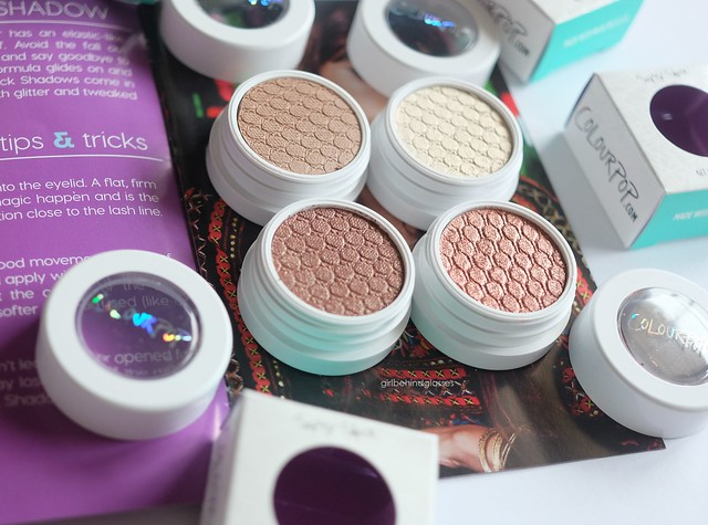 ColourPop Super Shock Shadow Hanky Panky Girly GDAF Sequin2