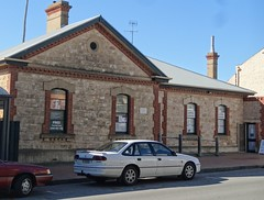 Goolwa. The handsome Bank of South Australia. Built in 1872. Now used as professional offices.
