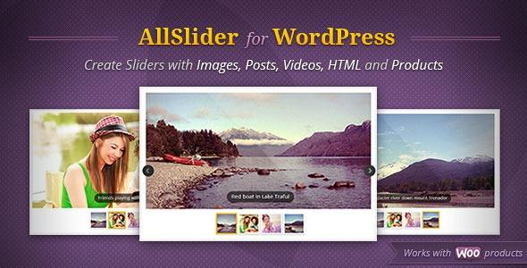 AllSlider v1.1.3 - WordPress Mobile & Responsive Slider Carousel