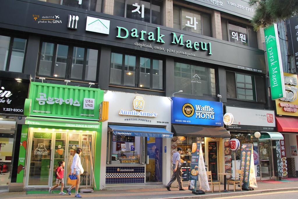 【清州購物】城內路景點 城安街 最繁華的年輕人街道,來去逛街採買囉! @GINA環球旅行生活 不會韓文也可以去韓國 🇹🇼