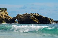 Natural Arch, Laguna Beach Shoreline, CA