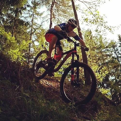 Lecimy piecem i nie odpuszczamy! Dziś kolejny przystanek na naszej rowerowej mapie - Single Trail Park Jamnica / Mountain Bike Nomad po słoweńskiej stronie granicy :) #timetobike #pasja #Jamnica #Słowenia #SingleTrail #MTB #Nomad / Trasa: https://www.stra