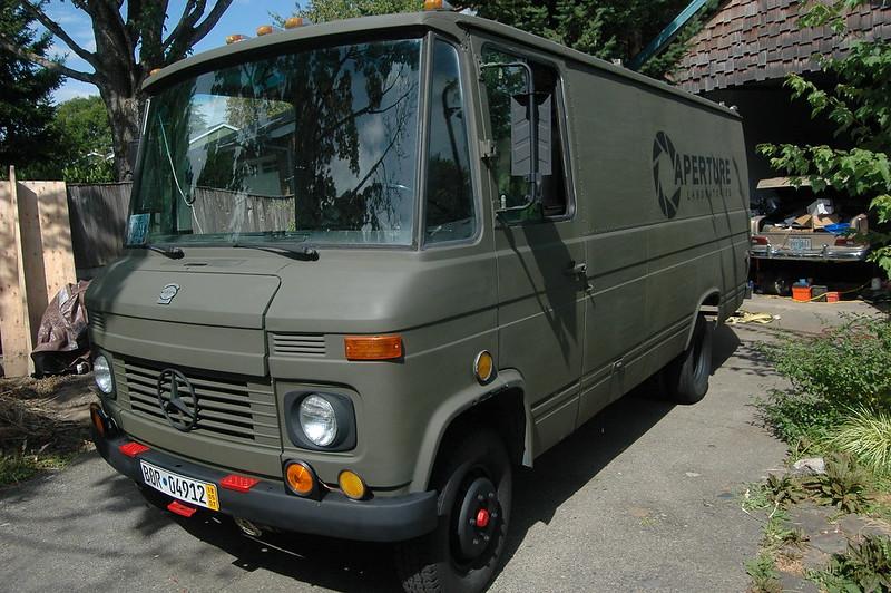 1972 mercedes 0309d omnibus van project in beaverton for Mercedes benz beaverton oregon