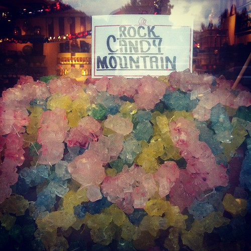 Big rock candy mountain!