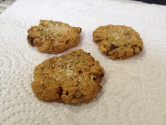 chocolate chip cookie, anzac biscuit, oatmeal-raisin cookies, baked goods, cookies and crackers, food, cookie, snack food,