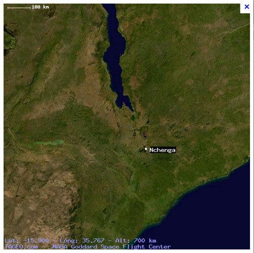 nchenga as seen from space