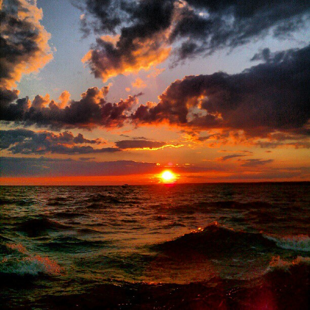Super Sunset -Oneida Lake