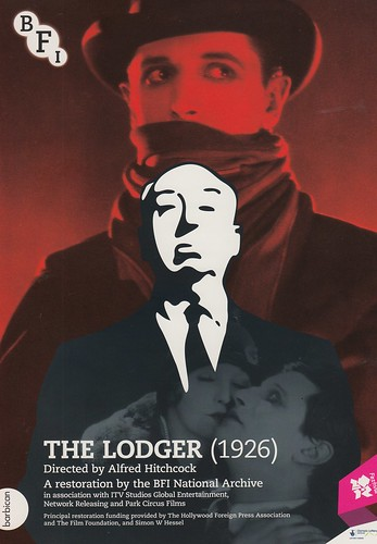 Alfred Hitchcock, The Lodger 2012 restoration Premiere at Barbican