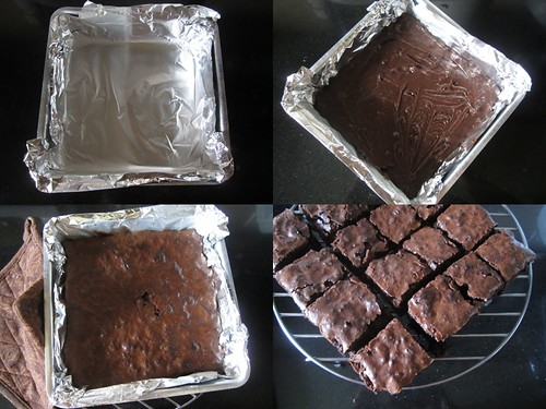 Double Chocolate Brownies-step5