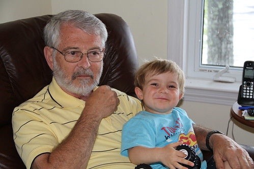 Grampy and his boy