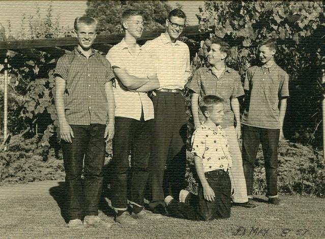 Peltzer Cousins circa August 1957
