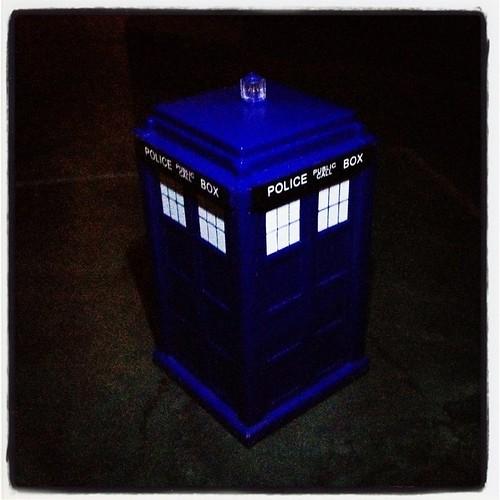 TARDIS by Nature Morte