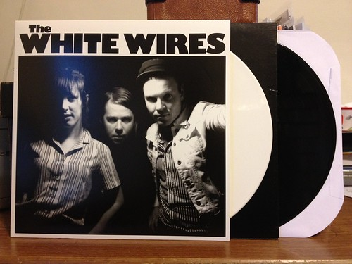 The White Wires - WWIII LP - White Vinyl (/200) & Black Vinyl by Tim PopKid