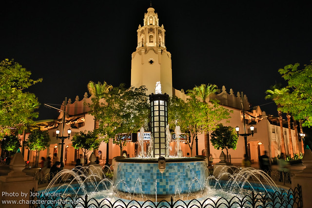 Disneyland July 2012 - Carthay Circle at Night