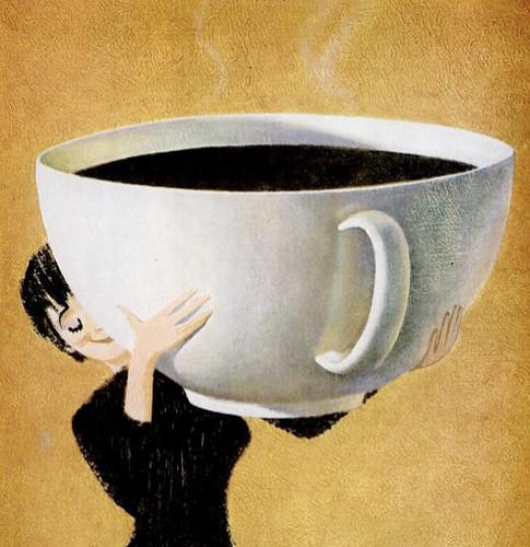 Hoje vou precisar de um balde de café! by Sonho de Moça