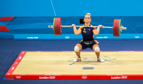 Olympics 2012: Women's 75kg Weightlifting