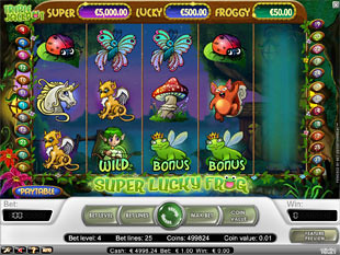 Super Lucky Frog slot game online review