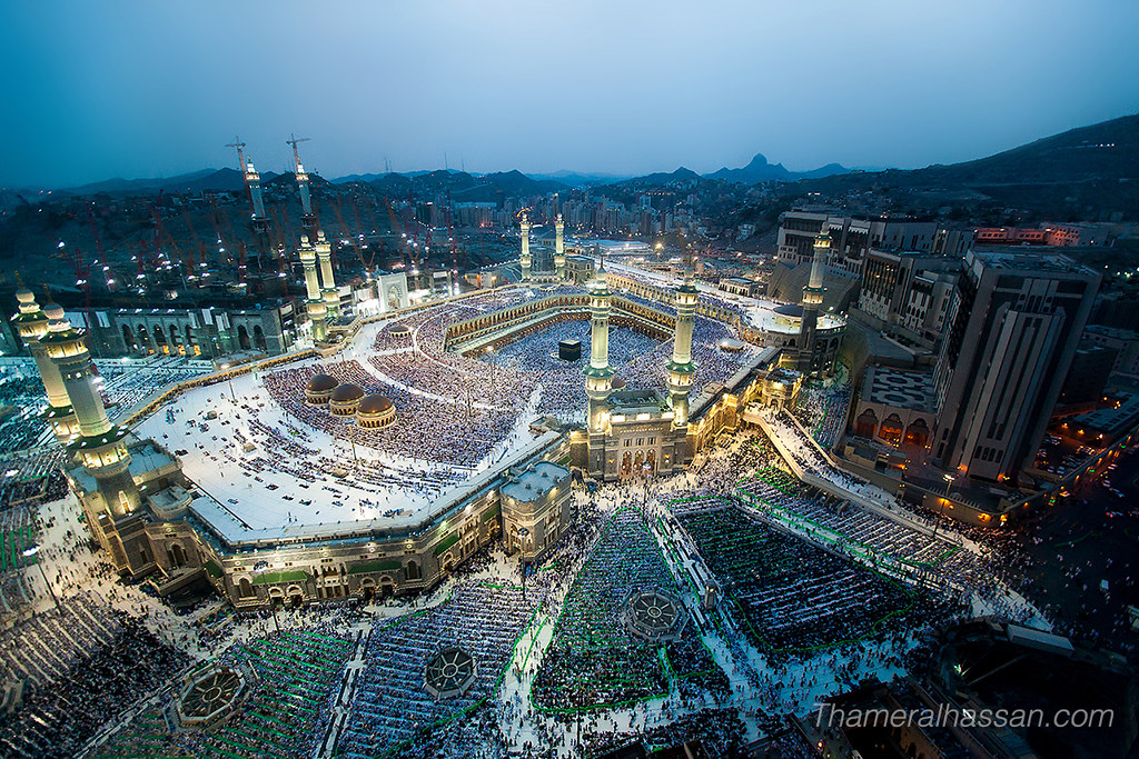 The Holy Grand Mosque in Makkah - Heart of Islam