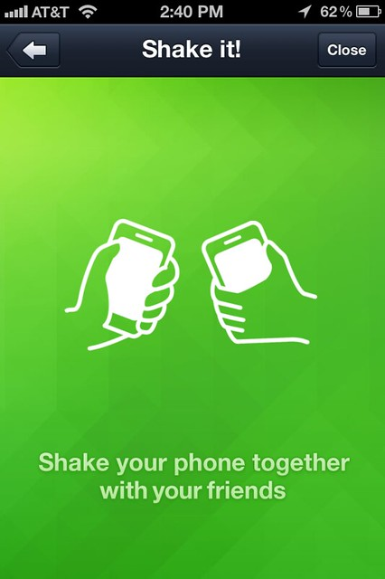 LINE - iPhone - Shake it!