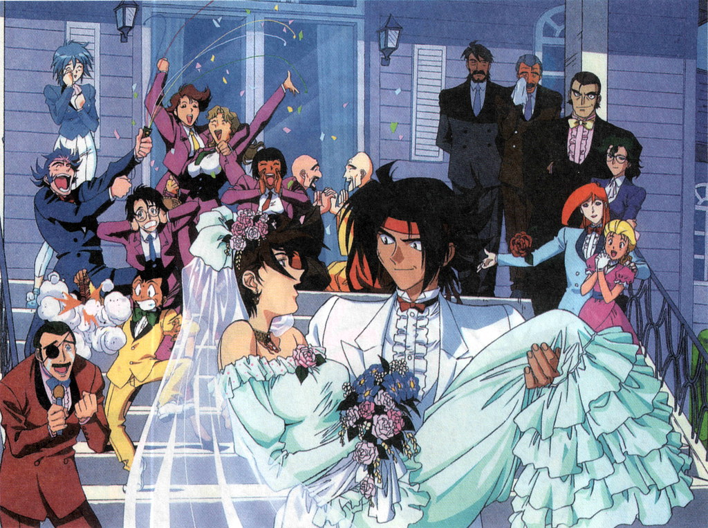 G gundam marriage rain and domon gundam philippines for Domon vs heero