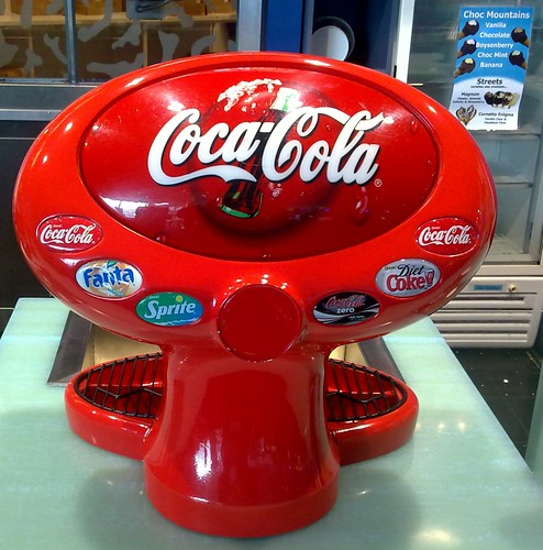 Coca-Cola Dispenser by hytam2
