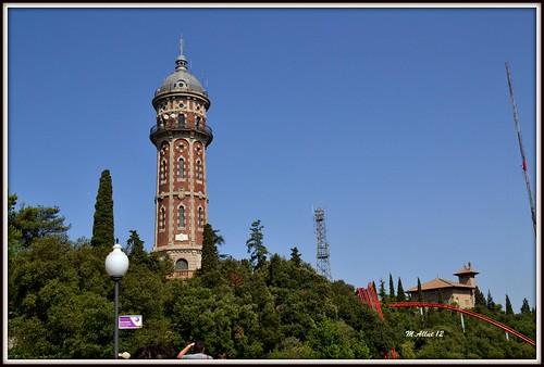 Torre de las Aguas del Tibidabo by Miguel Allué Aguilar