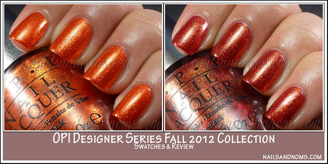 OPI Designer Series Fall 2012 Collection