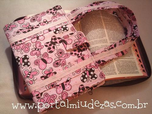Capa para Bíblia - Caderno - Agenda by miudezas_miudezas
