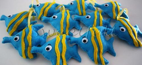 ♥♥♥ Os peixinhos do  Benjamin... by sweetfelt \ ideias em feltro