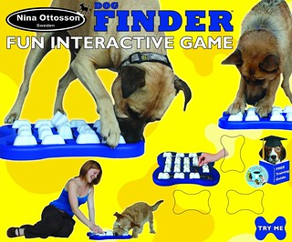 Nina Ottosson DogFinder Interactive game