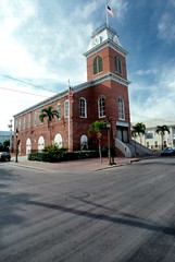 Old City Hall building at 510 Greene Street: Key West, Florida