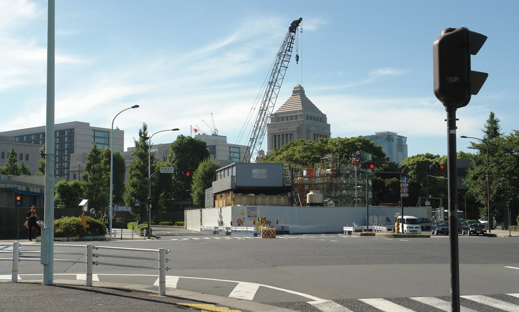The Diet Building : 22 August 2012