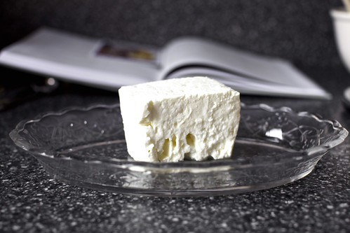 a big block of bulgarian feta