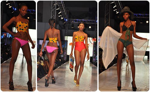 Aya Morrison at Tigo Glitz Africa Fashion Week