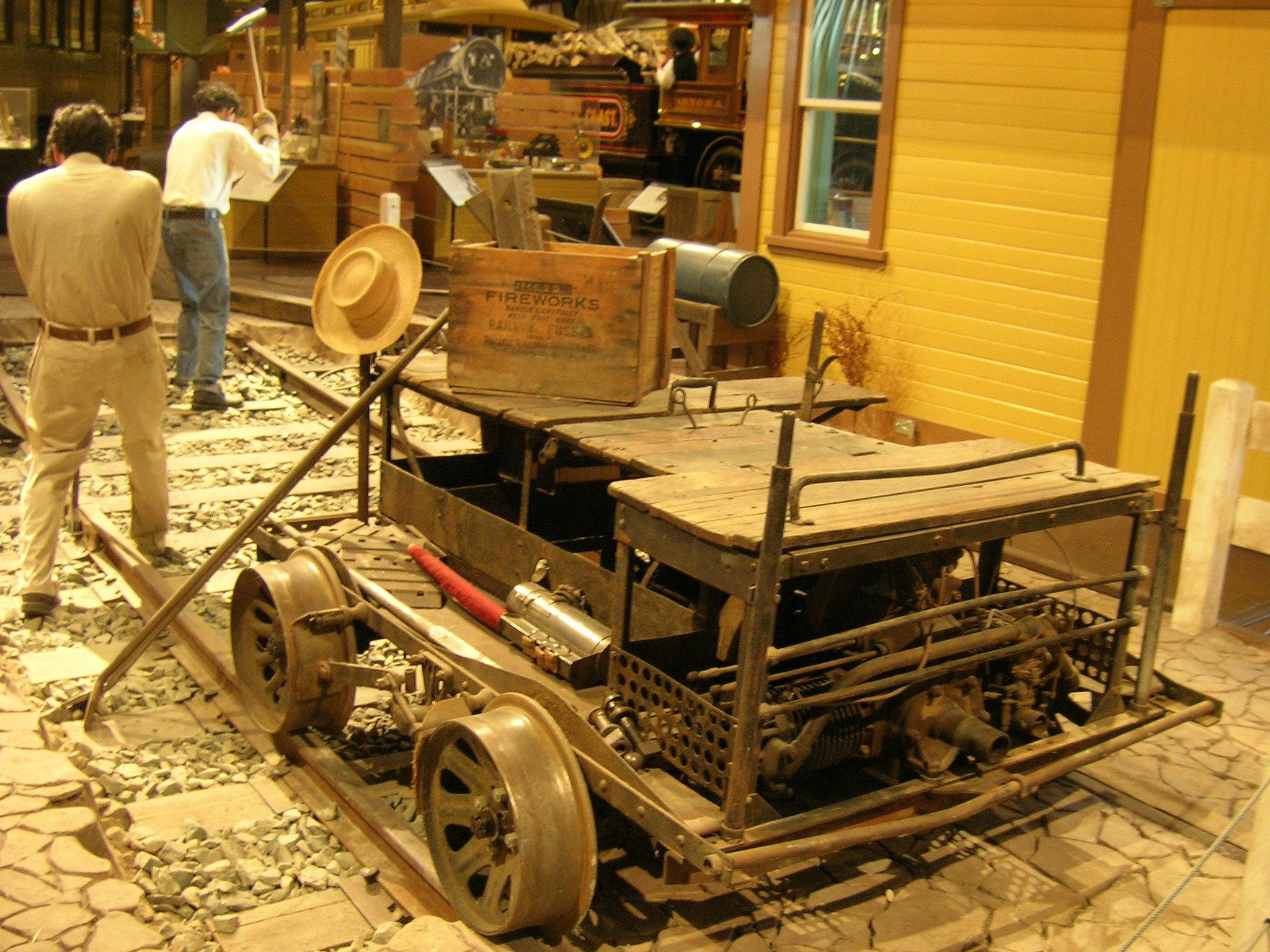 Fairbanks Morse Motor Car 3 California State Railroad