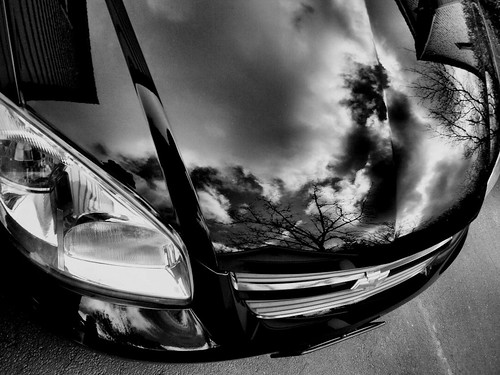 Car-Reflections-1B&W