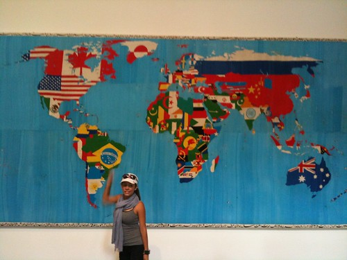At the Alighieri Boetti exhibit, MoMa