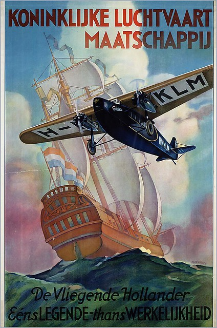 KLM. The Flying Dutchman. 1920s