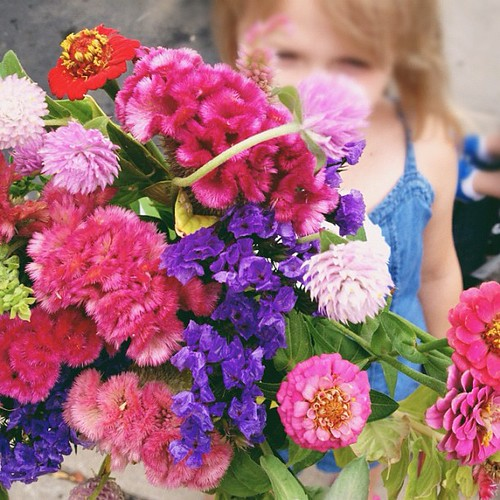 Farmers market flowers. #onefunthing