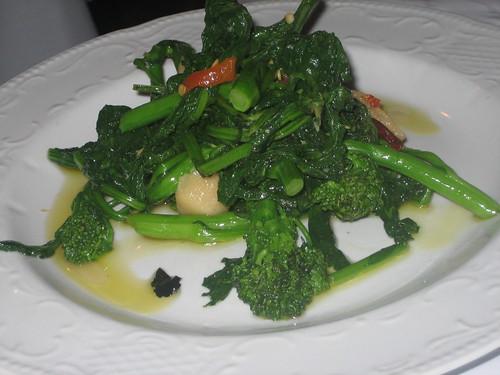 IMG_5572 Lupo di Mare broccoli rabe