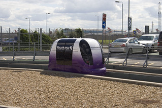 Heathrow driverless pods