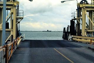Texas   -   Ferry Galveston to Port Bolivar   -   August 1972