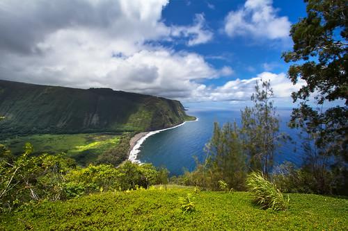 seascape hawaii day offroad 4x4 cloudy shoreline lookout pacificocean bigisland overlook waipio bigislandhawaii hamakua fourwheeldrive kaau waipiovalley blacksandbeach hamakuacoast kohalacoast northkohala hāmākuacoast waipiobay hawaiinislands kohalaforestreserve canon7d upolupoint hamakuadistrict ©2012shabdrophoto hāmākua