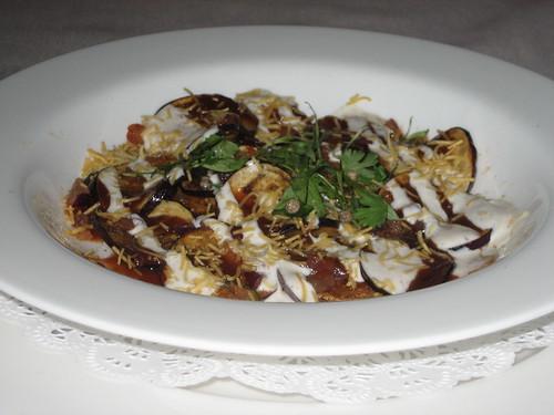 IMG_5631 Junoon Eggplant Chaat