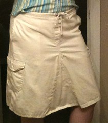 Cargo Skirt Refashion