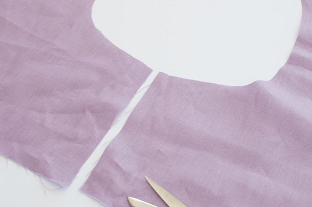 DIY FLUTED HEM SKIRT 11