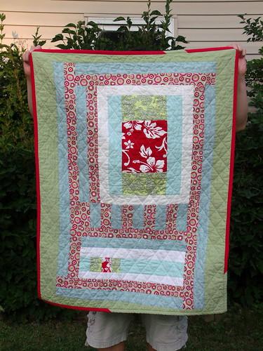 Maren's 2nd quilt