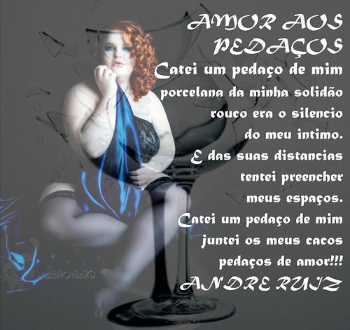 AMOR AOS PEDAÇOS by amigos do poeta